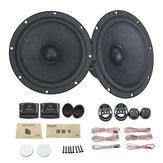6,5 pouces 100W Composant audio de voiture système de haut-parleur 2 voies Tweeter subwoofer