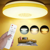 48W LED Ceiling Light Remote Control for Living Room Bedroom Kitchen AC180-260V 3 Modes
