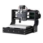 Versióndeactualización1810GRBLControl Mini DIY Enrutador CNC Husillo estándar motor Madera Láser Husillo de la máquina de grabado motor PCB Grabador de fresado de PVC Enrutador de madera Grabador
