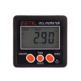 Drillpro 0.1° 360 Degree Large LCD Digital Protractor Inclinometer Magnetic Electronic Angle Level Box