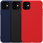 NILLKIN Smooth Shockproof Soft Rubber Wrapped TPU Protective Case for iPhone 11 6.1 inch