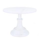 10 Inch Revolving Cake Stand Pedestal White Dessert Holder Wedding Birthday Party Decor