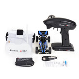 Everyine & EMAX EAT03 1/24 2.4G RWD Electric FPV RC Car with Goggles for Interceptor Full Proportional Control RTR Model