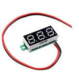 10pcs 0.28 Inch Two-wire 2.5-30V Digital Red Display DC Voltmeter Adjustable Voltage Meter