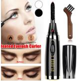 Electric Heated Eyelash Curler Quick Heating Long Lasting Cu