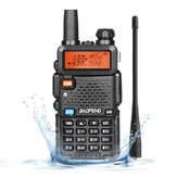 Baofeng UV-5R Ⅲ Walkie Talkie 136-174MHz 220-260MHz 400-520MHz Bidireccional Radio