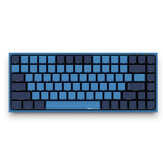 AKKO 3084 SP Ocean Star 84 Tombol Keyboard Gaming Mekanik PBT Keycap Cherry Switch USB 2.0 Type-C Kabel Sisi Huruf Caverd Desain Keyboard Gaming