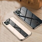 Bakeey Luxury Plating Anti-scratch Tempered Glass Protective Case for iPhone 11 Pro Max 6.5 inch