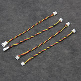 DIY 1.25mm 3Pin Male Female Connector-plug Adapter Cable for FPV Camera Flight Controller