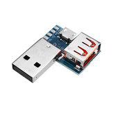 3 шт. USB-адаптер Совет Micro USB для USB Женский Коннектор Мужской к Женский Заголовок 4P 2.54 мм