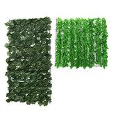 Artificial verde cerca arte folhagem hedge pano de fundo Planta parede grama painel decorações