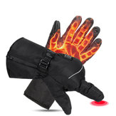 3 Level Electric Battery Powered Touchscreen Winter Hand Warm Heated Gloves