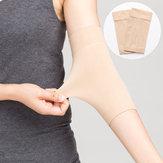 Avambraccio di colore della pelle Tatuaggio Coprigambe maniche braccio compressione Banda Correttore