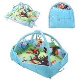 3 Em 1 Bebê Brinquedos Mat Cartoon Soft Recém-nascido Crianças Atividade Academia Playspot Foam