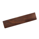 Walnut Wood Wrist Rest Pad Keyboard Wood Wrist Support Protection Mouse Anti-skid Pad for 60% Keyboard or 80% Mechanical Keyboard