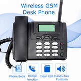 Wireless GSM Desk Phone SIM Card Mobile Home Office Desktop Telephone Feature Phone