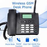 Telefone sem fio GSM Telefone de mesa Cartão SIM Móvel Escritório em casa Telefone de mesa Telefone de recurso