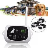 500 metros Pet Electric Impermeable Recargable inalámbrico Control remoto Sistema de entrenamiento de valla para 3 perros Entrenador de mascotas