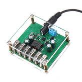 DC-DC-Abwärtsregler Stromrichter 10V 12V 24V 36V bis 5V / 8A 6 USB-Ausgangsstromversorgungsmodul