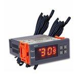 STC-800 LED Controlador de temperatura digital Termostato 12V / 24V Termostato com Aquecedor E refrigerador com detecção de nível de água