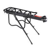 Porteur de charge 50KG Mountain Bike Cargo Rack Rack Seat Bagages Carrier Alliage d'aluminium
