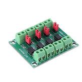 PC817 Módulo de Conversor de Tensão da Placa de Isolamento do Acoplador Óptico de 4 Canais Módulo 3.6-30 V Driver Fotoelétrico Módulo Isolado PC 817