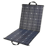 NB2-100 80W 18V Monocrystallinel Folding Solar Panel Package with 1.5m MC4 Cable for Car Battery