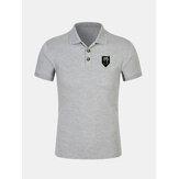 Camisas de golf de moda casual delgada y delgada