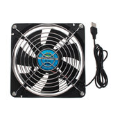 14CM Universal Router Cooling Fan 5V USB Set-top Box Broadband Cat Cooling Rack