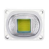 Wysokiej mocy 50W biały / ciepły biały LED COB Układ świetlny z soczewką do DIY Reflektor reflektorowy AC220-240V