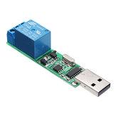 YYE-3 USB-модуль управления реле CH340 MCU PC Control Switch PLC Jog Самоблокирующаяся плата