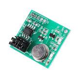Módulo de recepción del transmisor inalámbrico 3pcs 433MHZ ASK DC 9V-12V EV1527 Control remoto Tablero de interruptores