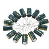 Condensatore elettrolitico radiale a bassa ESR ad alta frequenza da 50 pezzi 35V 470UF 10 x16MM