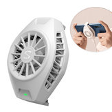 Original Xiaomi Cool Cooling Fan Back Clip Type-C Bass Operation Mini dispositivo de radiación para Xiaomi 10 Pro para iPhone Huawei Sumsung teléfono móvil