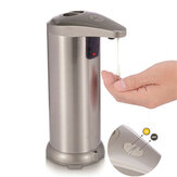 250 ml Líquido Automático Sabão Dispensador Sensor Mão em Aço Inoxidável sem contato Sabão Dispensador de Garrafas para Cozinha banheiro