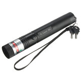 10 Milhas 532 nm Verde Laser Caneta Pointer PPT Laser Página Pen Light Adjust 50w + 18650 Bateria Carregador