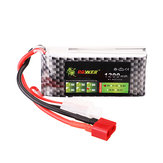 LION Power 7.4V 1200mAh 60C 3S Lipo Batterie T Plug für RC-Car