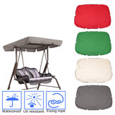 Patio Swing Canopy Top Cover Replacement Outdoor Garden Yard Porch Seat Furnitur Decorations