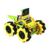 ELECFREAKS DIY Micro: bit Graphic Program Stick Control Smart RC Robot Car With 80mm Omni Wheels Compatible With LEGO