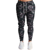 Men Casual Pants Camouflage Sport Hunting Waist Pants Running Gym Sport Jogging Pants Trousers