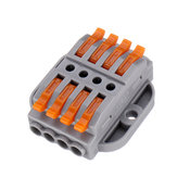10pcs PCT-224A Quick Terminals Wire Connector Universal Terminal Block 32A