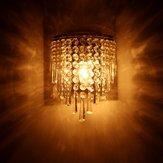 E14 LED Lâmpada de parede de cristal Quarto moderno em casa Lustre Arandela Luminária interna