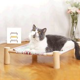 Hammock Cat Cat Corner Ninhada Removível Cat Hammock Supplies Pet Pad Hanging Bed