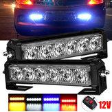 12 В 36 Вт 12LED Авто Строб Flash Решетка радиатора Предупреждение об опасности Аварийный Лампа Бары Водонепроницаемы