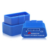 Aermotor Blue ELM327 Bluetooth 4.0 OBD Auto Fehler Detektor Diagnosescanner OBD2 für Android / IOS / PC