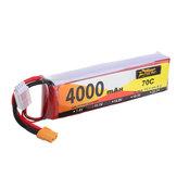ZOP Power 11.1V 4000mAh 70C 3S Lipo Battery XT60 Plug for RC Drone
