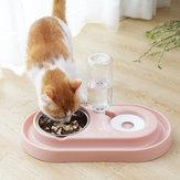 التلقائي كلب القط شرب موزع المياه المغذية طبق وعاء الغذاء