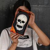 Campanello di Halloween con un occhio Decorazioni di Halloween Cranio Zucca Campanello di orrore Decorazioni di fantasmi