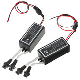 2PCS CCFL Angel Eyes Halo Ring Lights Inverters 12V Anti Interference