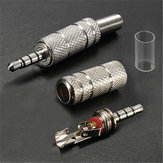 3.5mm 4 Pole Male Repair Headphones Audio Jack Plug Connector Adapter Soldering